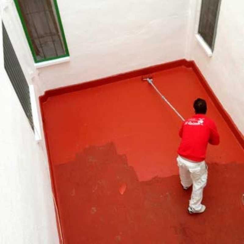 Impermeabilización de terraza en edificio