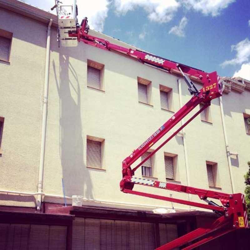 Reparación e impermeabilización en fachada